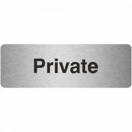 Private Prestige Premier Door Sign 300X100mm