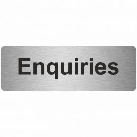 Enquiries Prestige Premier Door Sign 300X100mm