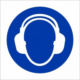 Ear Protection Sign