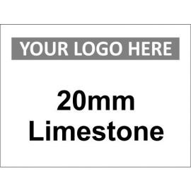 20mm Limestone Sign