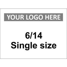 6/14 Single Size Sign