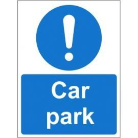 Car park sign in a variety of sizes and materials with or without your logo