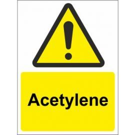 Acetylene sign in a variety of sizes and materials with or without your logo