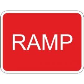 Ramp Traffic Sign