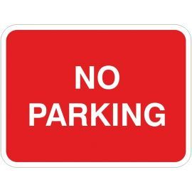 No Parking Traffic Sign
