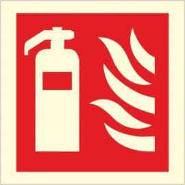 Photoluminescent Fire Extinguisher Sign