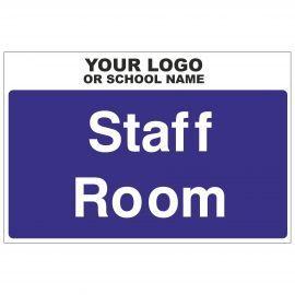 Staff Room Door Sign