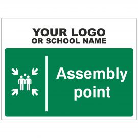 Assembly Point School Sign - Composite Board