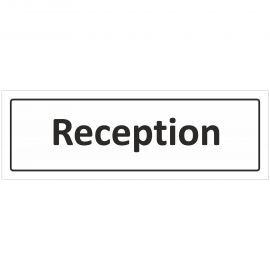 Reception Door Sign