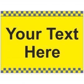Custom School Traffic Sign - Composite Board