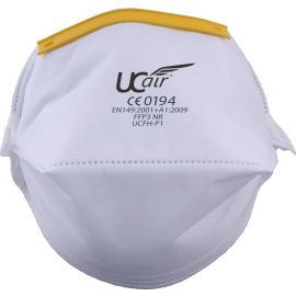 Space Saving Horizontal Fold Flat Respirator Mask (Pack of 20)
