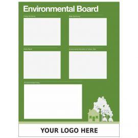 Custom Environmental Board Sign 900mm x 1200mm