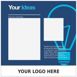 Custom Your Ideas Sign 900mm x 1200mm
