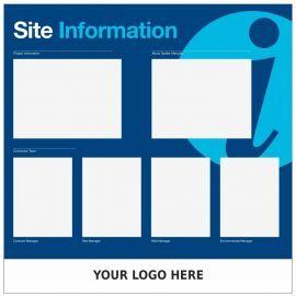 Custom Site Information Sign 1200mm x 1200mm