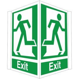 Exit Projecting Sign