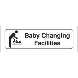 Baby Changing Facilities Toilet Door Sign