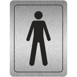 Male Toilet Aluminium Door Sign