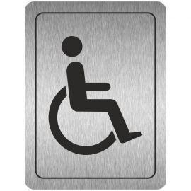 Disabled Toilets (Symbol) Aluminium Door Sign
