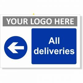 All Deliveries Arrow Left Sign