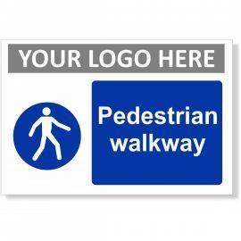 Pedestrian Walkway Sign