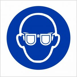 Eye Protection Symbol Sign