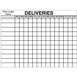 Board for Keeping Track of Deliveries, 1200WX1000Hmm Aluminium Composite Board With Your Logo