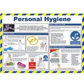 Personal Hygiene Laminated Poster