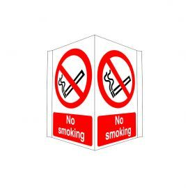 Projection Sign No Smoking