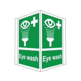 Eye Wash Projected Sign