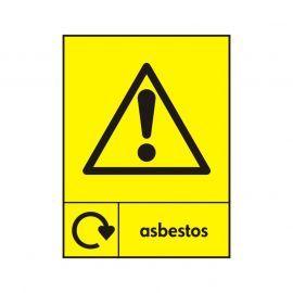 Asbestos Sign