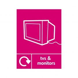 Tvs And Monitors Sign