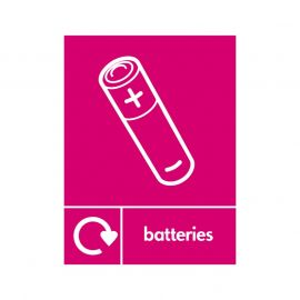 Batteries Sign