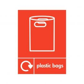 Plastic Bags Sign