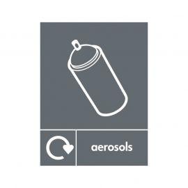Aerosols Sign
