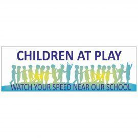 Children At Play School Banner