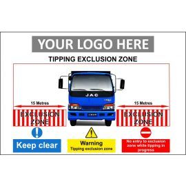 Tipping Exclusion Zone Composite Board