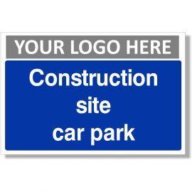 Construction Site Car Park Sign