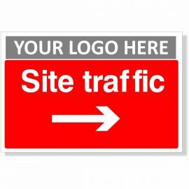 Site Traffic Arrow Right Sign