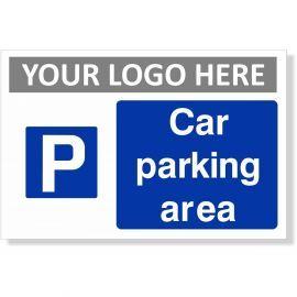 Car Parking Area Sign