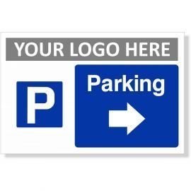 Parking Arrow Right Sign