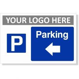 Parking Arrow Left Sign