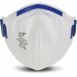 Disposable FFP2 Fold Flat Mask With Exhalation Valve