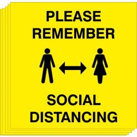 Please Remember Social Distancing (Multipack)