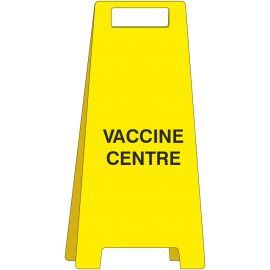 Covid-19 Vaccine Centre Freestanding Sign