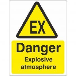 Danger Explosive Atmosphere Sign