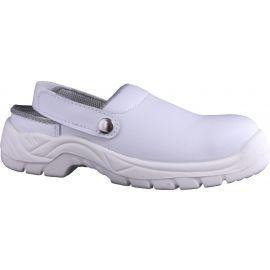 White Microfibre Upper Shoe
