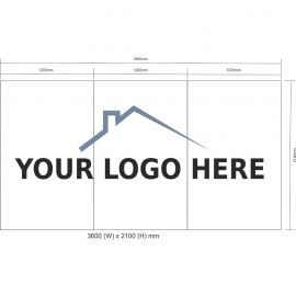 Custom Hoarding Panel Signage