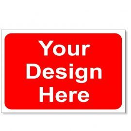 Your Design Here Temporary Traffic Sign