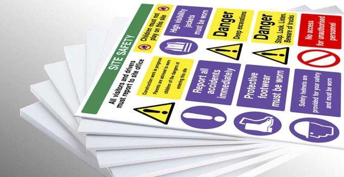 Custom Printed Signs and Products
