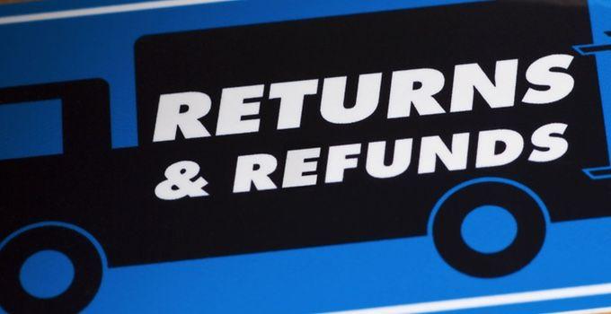 Returns Help & FAQ